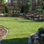 A kertépítés folyamata - Csepel - az elkészült kert