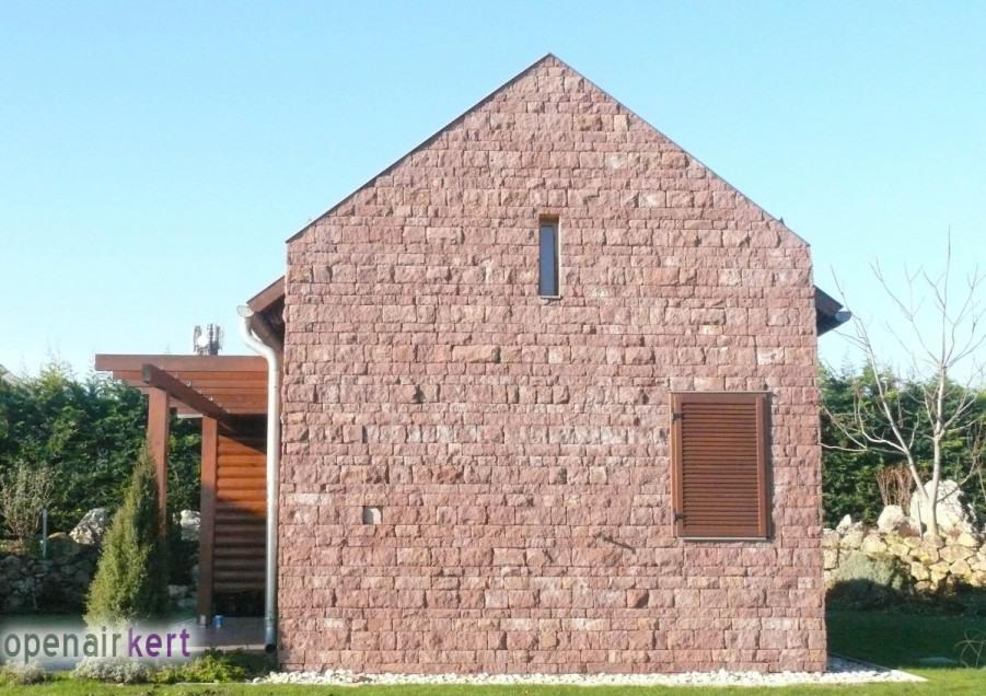 Kerttervezési ötletek - alapkép - az épület homlokzata